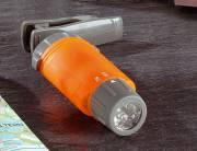 BRESSER LED Linterna de luz blanca