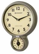 BRESSER MyTime reloj de cocina de acero inoxidable y temporizador estilo retro