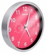BRESSER MyTime Reloj de pared Termo-/ Higro- 25cm - rosa