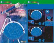 BRESSER JUNIOR Planisferio Celeste, fluorescente