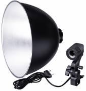BRESSER MM-11 Portalámparas reflector 26cm para 1 luz