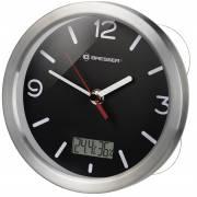 BRESSER MyTime Bath RC Reloj de Baño controlado por Radio - color negro