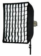 BRESSER Caja de luz SS-8 High Grade con rejilla 90x90 cm