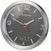 Reloj de Baño BRESSER MyTime Termo/Higro - gris