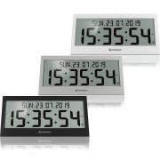 Reloj de pared radiocontrolado BRESSER LCD Jumbo DCF