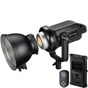 Foco LED de Estudio BRESSER BR-D1200BL COB Bi-Color con Refrigeración