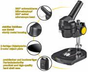 Microscopio de luz incidente NATIONAL GEOGRAPHIC de 20x