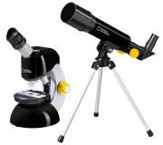Juego de telescopio y microscopio NATIONAL GEOGRAPHIC
