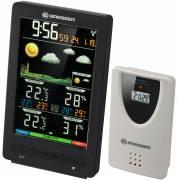 BRESSER ClimaTemp WS Estación meteorológica inalámbrica con pantalla a color