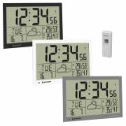 Reloj meteorológico de Pared BRESSER MyTime Jumbo LCD