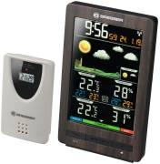 Estación meteorológica inalámbrica BRESSER ClimaTemp WS con pantalla en color y aspecto de madera