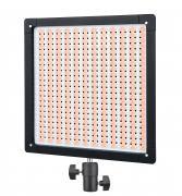 BRESSER Lámpara de Estudio LED Slimline SH-528A Bi-Color 32W/4.600 LUX