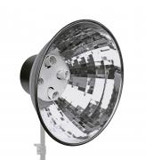 BRESSER MM-05 Portalámparas con reflector para 4 lámparas en espiral