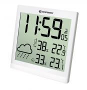 BRESSER TemeoTrend JC LCD Reloj meteorológico blanco