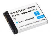 BRESSER Batería de repuesto de iones litio para Sony NP-FT1