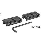 Hawke 2pc Adaptor Weaver to 11mm Montaje Mira