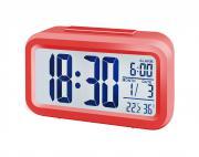 BRESSER MyTime Duo Reloj despertador rojo