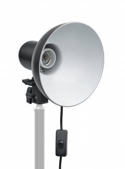 BRESSER MM-4 Portalámparas universal con reflector suave para 1 lámpara