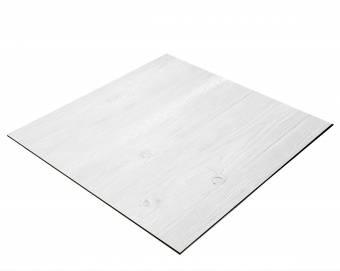 Fondo BRESSER Flatlay para Fotos tomadas desde arriba - 40 x 40 cm Tablones de Madera blancos