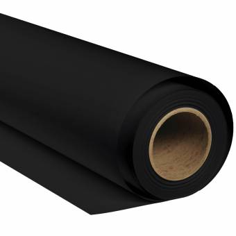 BRESSER SBP02 Fondo de papel 2,72 x 11m Negro