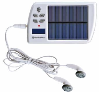 BRESSER Cargador Solar MP3/FM