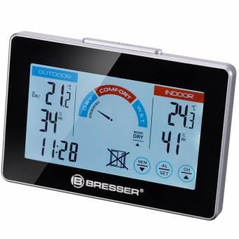 Termohigrómetro radiocontrolado BRESSER con Recomendación de Ventilación