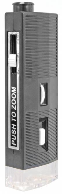 BRESSER 60x - 100x Microscopio de mano