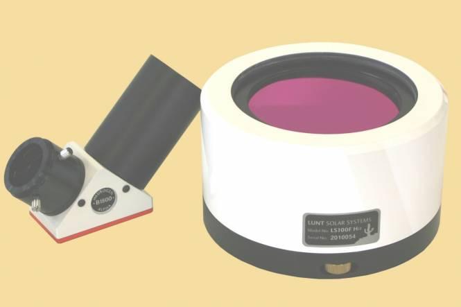 Filtro solar H-Alpha LUNT LS100FHa/B1800d2