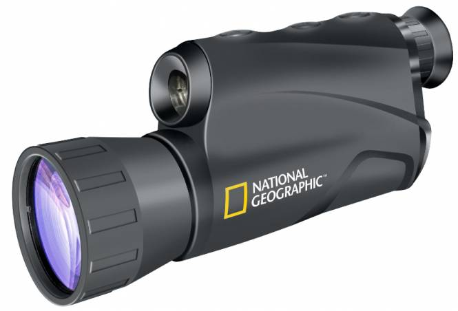 ​NATIONAL GEOGRAPHIC 5x50 Monocular Digital de Visión Nocturna