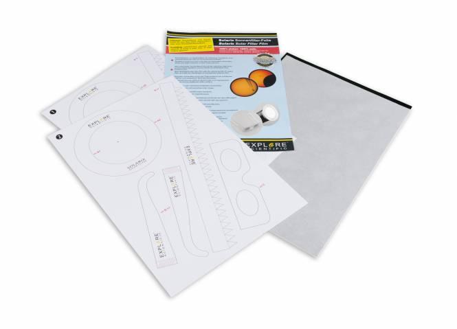 EXPLORE SCIENTIFIC Filtro solar Solarix folio A4