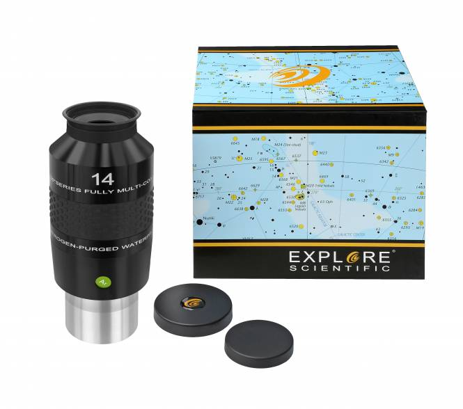 "Explore Scientific 100° N2 Ocular 14mm (2"")"