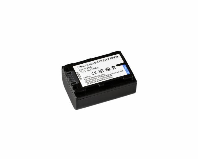 BRESSER Batería de repuesto de iones litio para Sony NP-FV50
