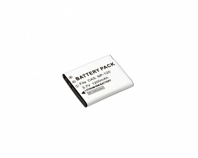 BRESSER Batería de repuesto de iones litio para Casio NP-120