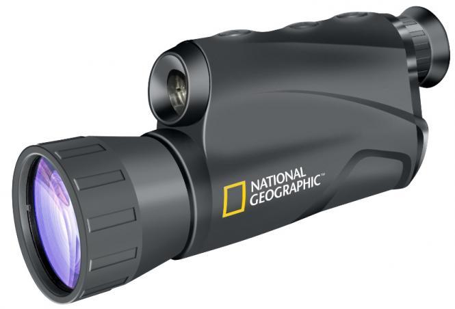 NATIONAL GEOGRAPHIC 5x50 Monocular Digital de Visión Nocturna