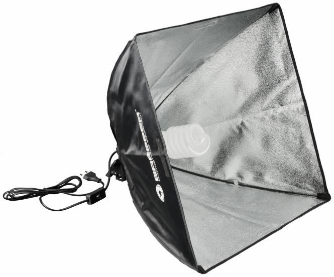 Bresser TR-3 Fondo plegable negro//blanco de tama/ño 120cmx180cm