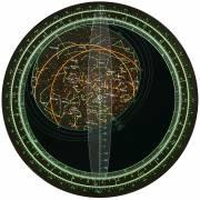 BRESSER mapa estelar giratorio