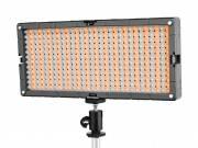 BRESSER LED SL-448-A 26.9W/1.400LUX Bi-Color Slimline Video + Lámpara de estudio