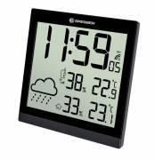 BRESSER TemeoTrend JC LCD Reloj meteorológico negro