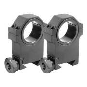 Barska 30/25.4mm X-High HD Weaver Style Montaje